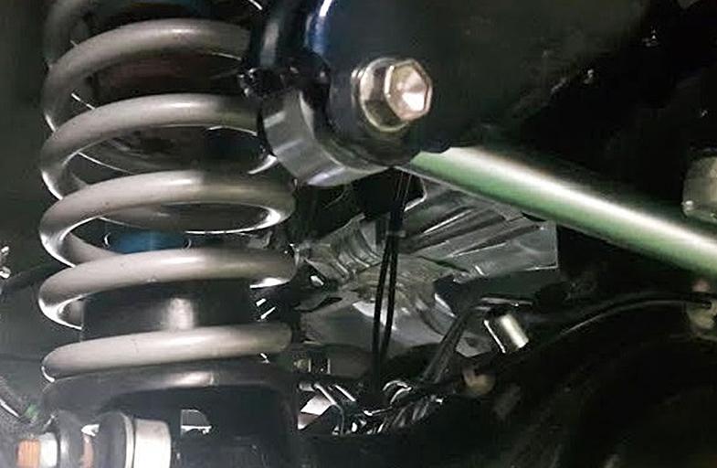 調整式ラテラルロッド/ピロボールタイプ フロント